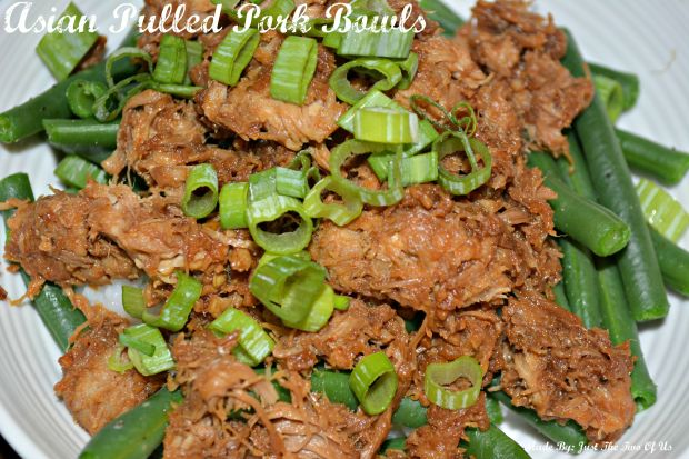 Asian Pulled Pork Bowls
